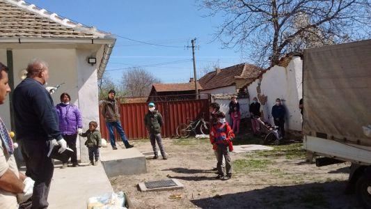 Openluchtdienst in Novo Miloševo