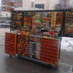 kraampje in Servië