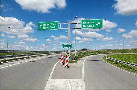 108-snelweg-in-Servie